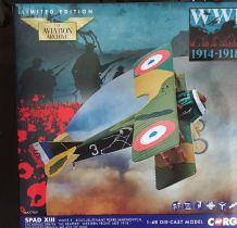 AA37909 Spad XIII 'White 3', Pierre Marinovitch, Escadrille Spa 94 'The Reapers', Youngest French Ai